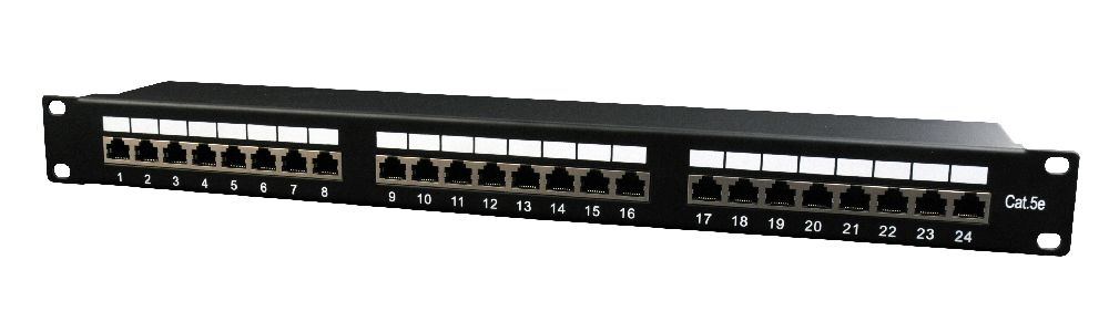 Cat5e 24-poorts patchpanel-NPP-C524-002
